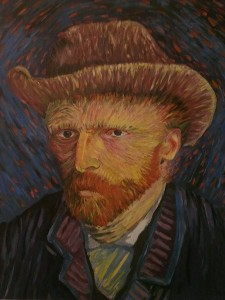 Acrylic on canvas 900x1200cm from the original of Van Gogh (1887)