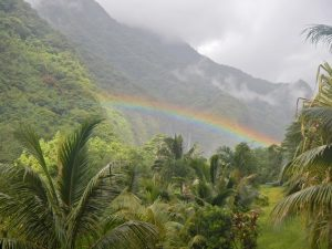 Teanuanua rainbow
